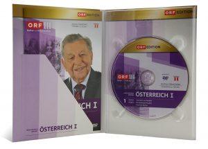 DVD Digipak 4 Seiten mit Bookletschlitz diagonal