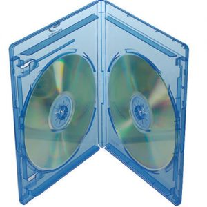 Blu-ray Disc Box für 2 Discs mit Rückenhöhe 12,5 mm