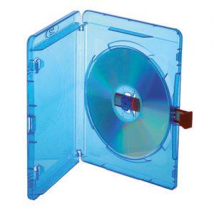 Blu-ray Disc Single Red Tag Case für 1 Disc mit Rückenhöhe 14,5 mm